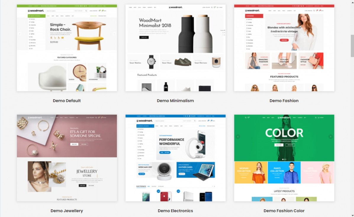 Responsive Shopify Template 10 thing