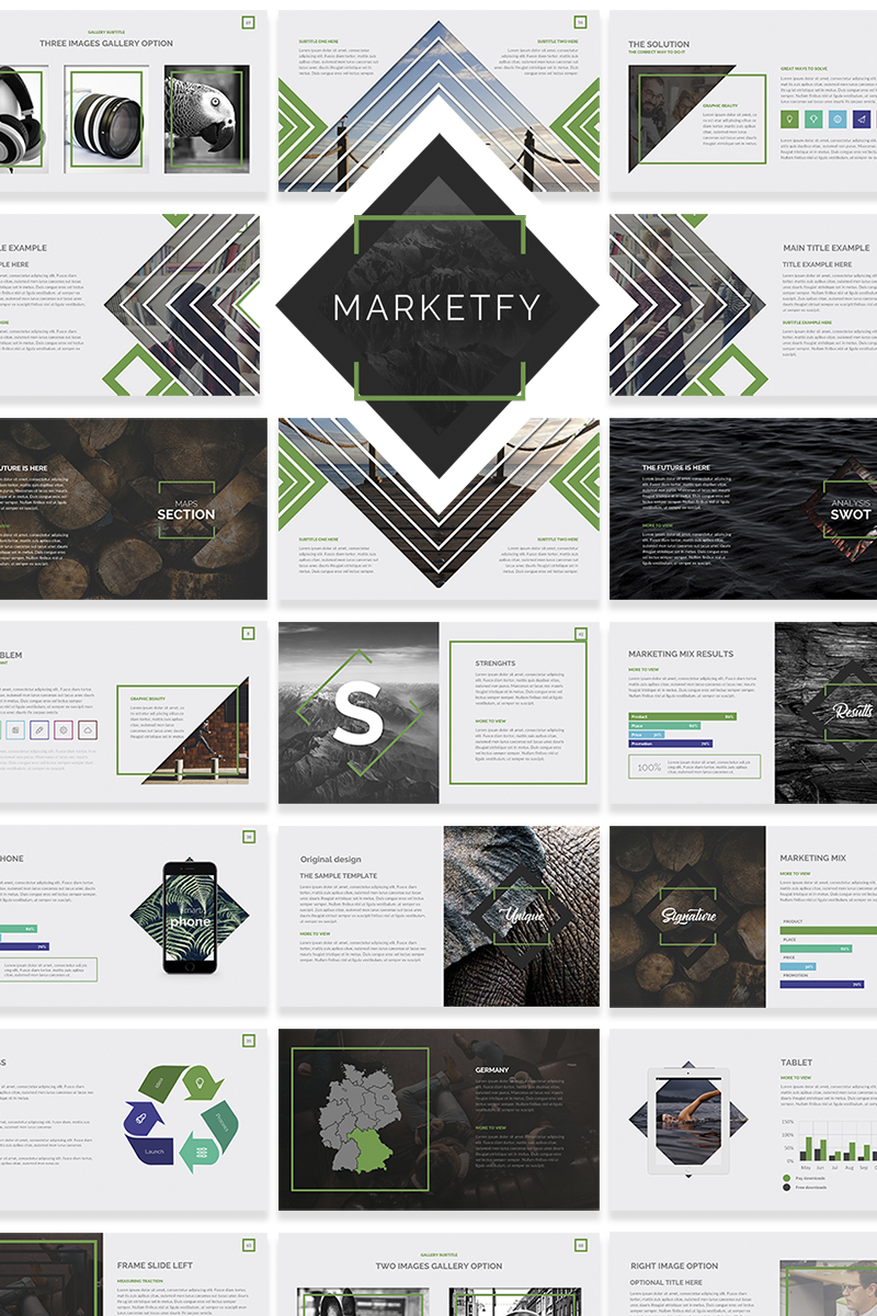 Multipurpose websites Keynote Template