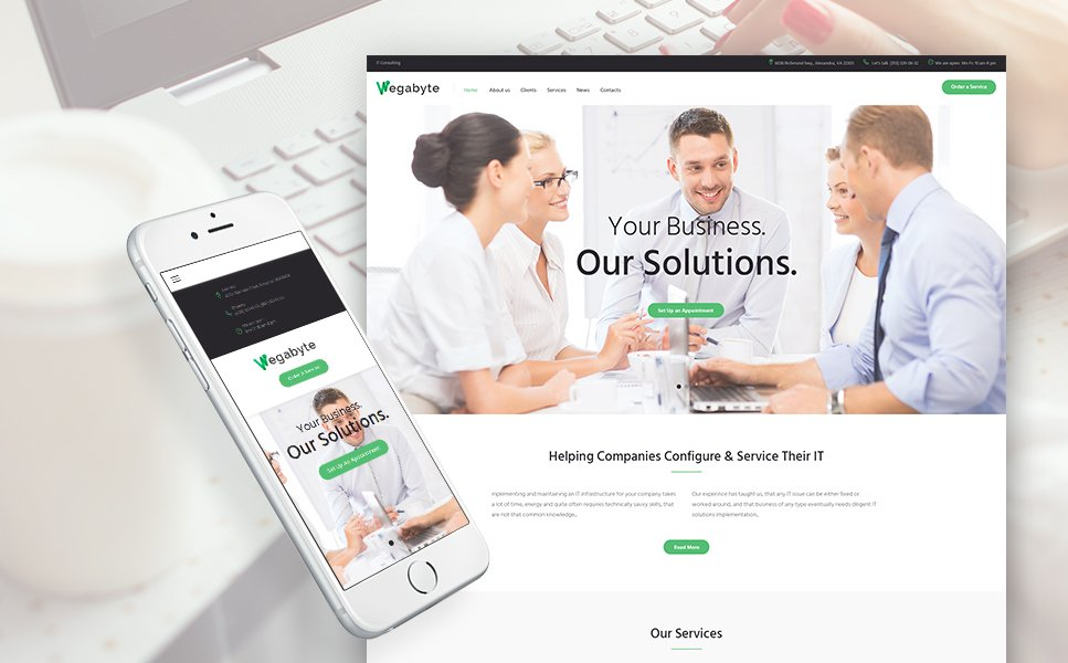 Business, Multipurpose websites WordPress Template