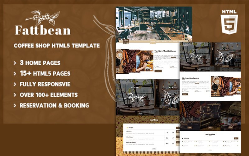 Catering, Food HTML Template