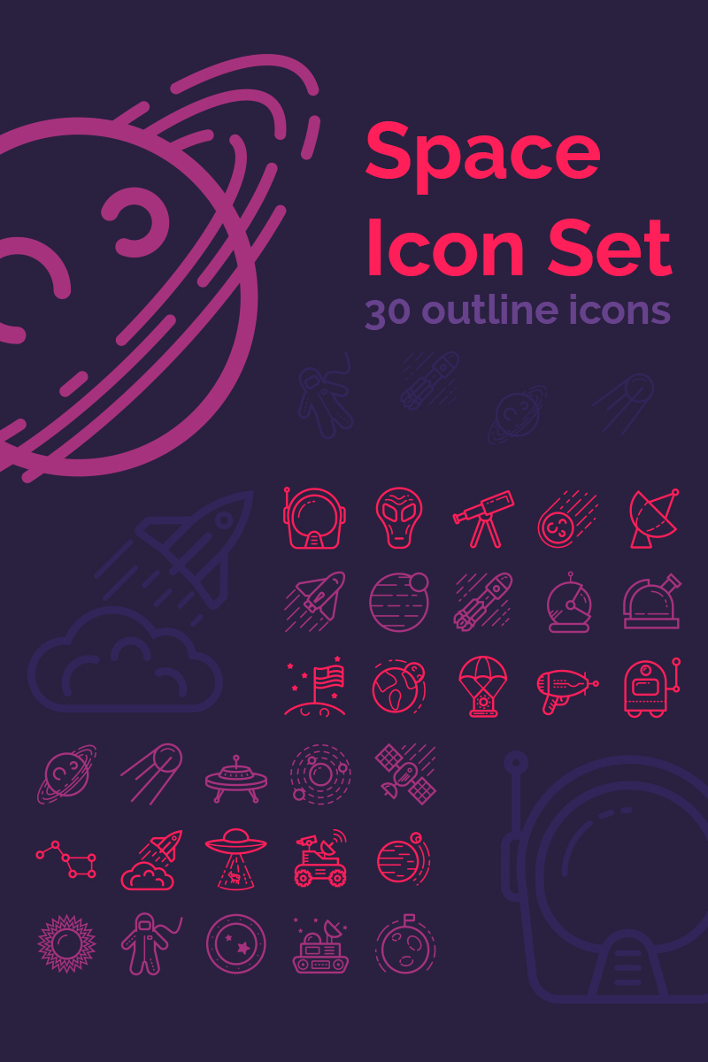 Travelling Icons set