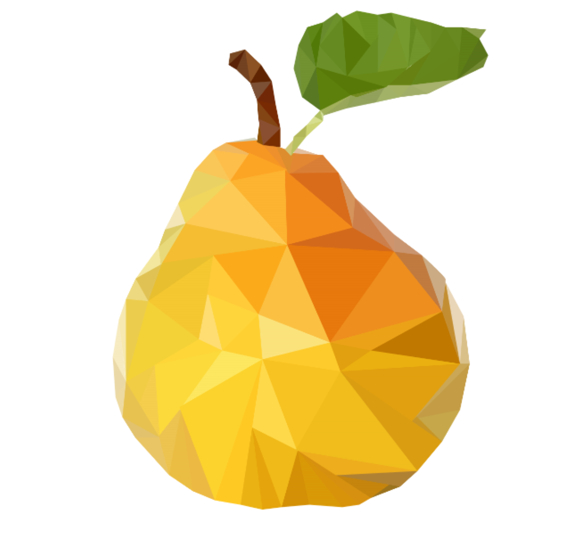 Pear Low Poly