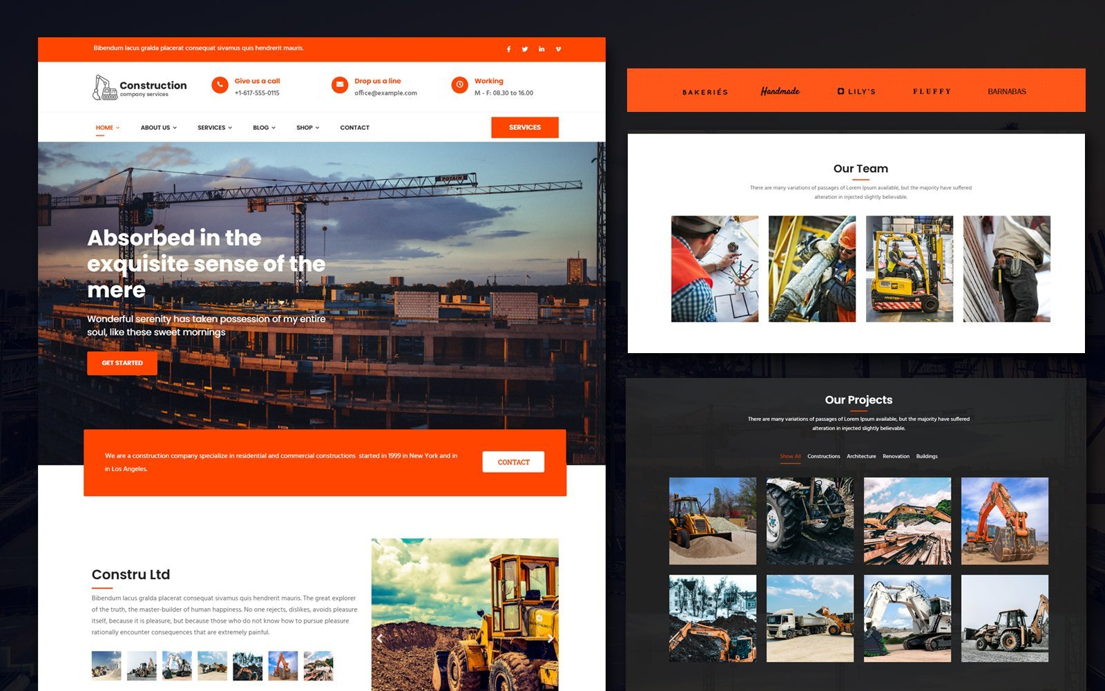 Business, Industrial Joomla Template