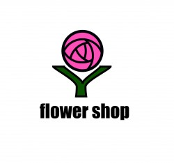 Logo for flower shop, card shop