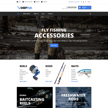 Joomla virtuemart templates: buy prepared templates of online shop ...