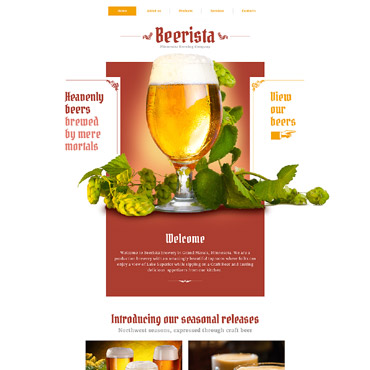 Beer HTML template