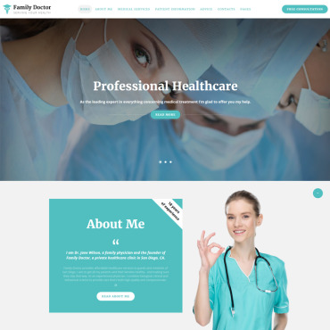 Medical HTML template