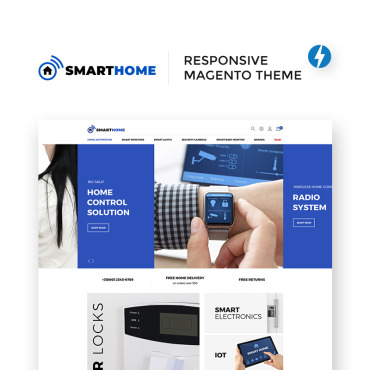 Photography website, e-commerce Magento template