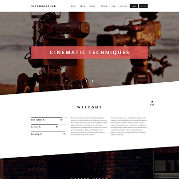Media website Drupal template