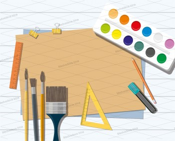 Art Industrial template, Advertising companies Vector