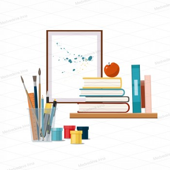 Art Industrial, Literature Vector
