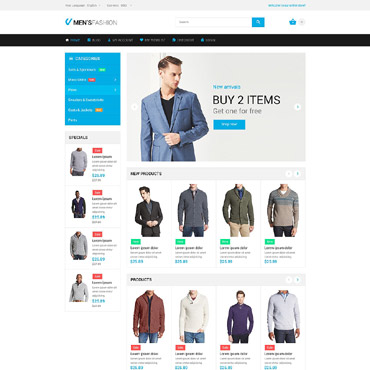 Magento templates are prepared templates for online shops on CMS Magento
