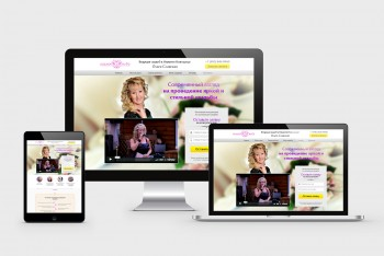 Dating website, Landing page HTML template