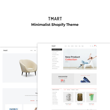 Photography website, e-commerce Shopify template