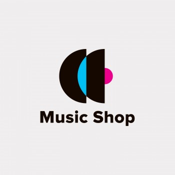 Logo for Music Shop and Music Studio