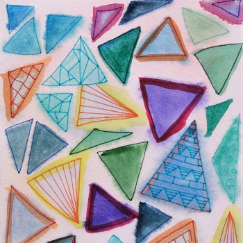 bright triangles