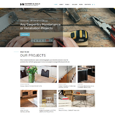 Hobby-related websites Joomla template