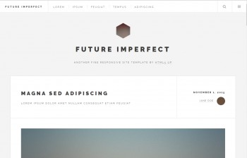 Website template for any purpose