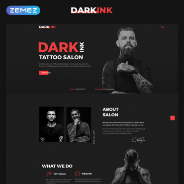 Beauty HTML template