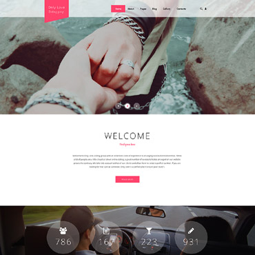 Dating website Joomla template