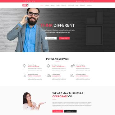 Multipurpose websites Joomla template