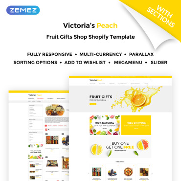 Transportation company, e-commerce Shopify template