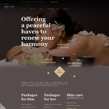 Beauty Joomla template