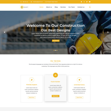 Real estate company, appraiser or mortgage institution PSD template
