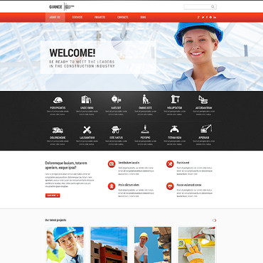 Architecture WordPress template
