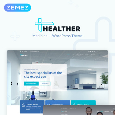 Medical WordPress template