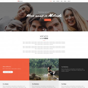 Web design, Fashion store HTML template