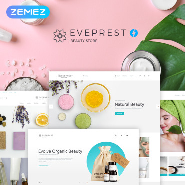 Beauty, e-commerce PrestaShop template