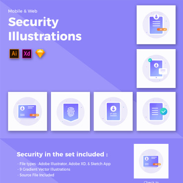 Multipurpose websites Icons set