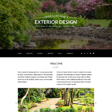 Landscape and Nature Joomla template