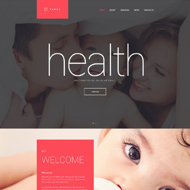 Family style Drupal template