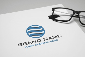 Web design, Advertising companies Logo