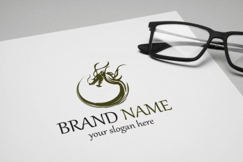 Art Industrial template, Advertising companies Logo