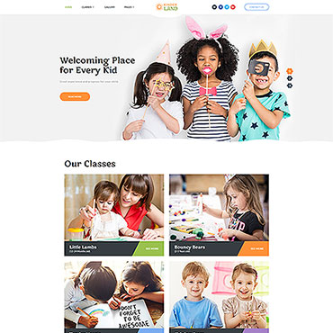 Family style HTML template