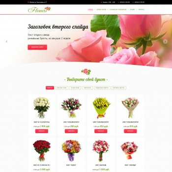 Business, e-commerce MODx template