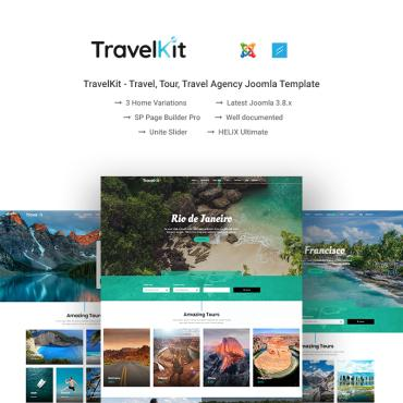 Travelling Joomla template