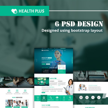 Medical PSD template