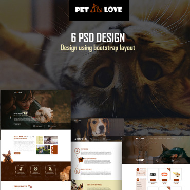 Multipurpose websites PSD template