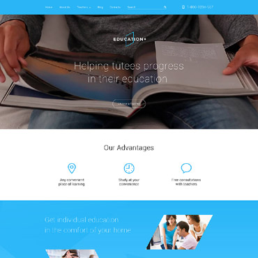 Educational Drupal template