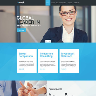 Business Drupal template