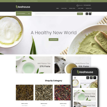 Catering, e-commerce Magento template
