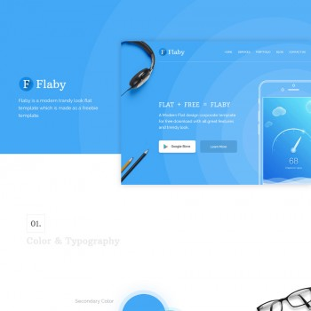 Advertising companies, Art Industrial HTML template