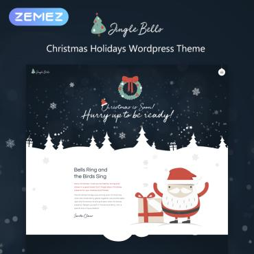 St. valentine's day WordPress template
