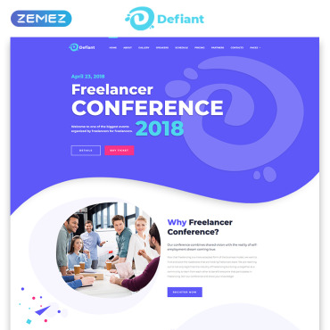 Entertainment websites HTML template