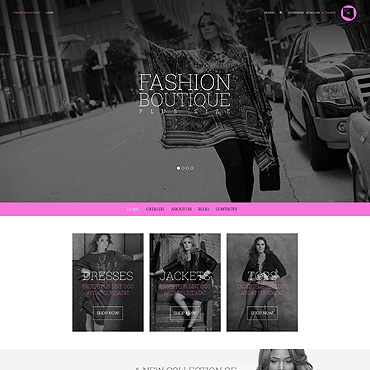 Fashion store, Online shop VirtueMart template