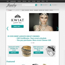 Online jewelry store CS-Cart template